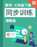 【课堂无忧】湘教版数学七年级下册 同步训练(含解析)