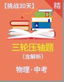 2021年深圳市挑战30天中考物理三轮复习压轴题(解析版)