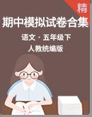 【期中专题】统编版小学语文五年级下册 期中模拟试卷合集