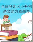 全国各地区小升初语文地方真题卷(PDF版)