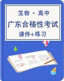 新教材高中生物合格性考试(广东)专题复习课件+练习