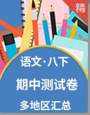 2021年人教统编版语文八年级下册 期中测试卷( 多地区汇总)