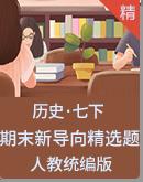 【期末复习】人教统编版历史七年级下册 期末新导向精选题