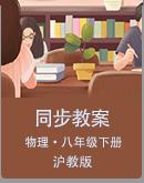 沪教版(上海)物理八年级下册同步教案