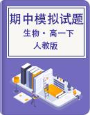 2020-2021学年生物人教版(2019)必修第二册期中复习与模拟试卷