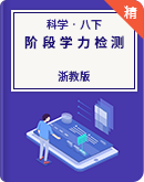 浙教版科学八年级下册阶段学力检测