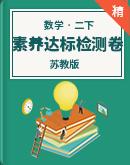 苏教版小学数学二年级下册素养达标检测卷(含答案)
