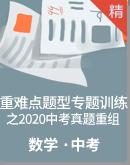 【备战2021年中考】数学重难点题型专题训练之2020中考真题重组