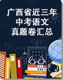广西省近三年(2020-2018)中考语文真题卷汇总