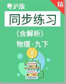 粤沪版物理九年级下学期 同步练习 (含解析)