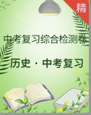 2021中考历史复习综合检测卷(练习版+答案版)
