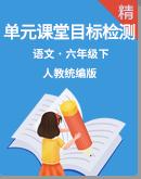 【单元提优】统编版语文六年级下册单元课堂目标检测试卷(含答案)