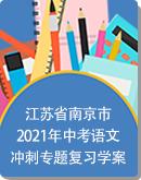 江苏省南京市2021年中考语文冲刺专题复习学案:题型分析+技巧归纳+练习