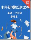 2021年小升初英语模拟试卷汇总(多版本)