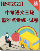 【备考2021】中考语文三轮 重难点专练 试卷