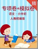 2021年小升初语文《学霸必刷卷》易错题专项突破卷+名校模拟卷(学生版+教师版)