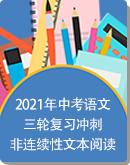 2021年中考语文三轮复习冲刺——非连续性文本阅读(含答案)
