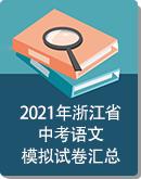 2021年浙江省各地中考语文模拟试卷汇总