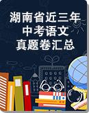 湖南省近三年(2020-2018)中考语文真题卷汇总