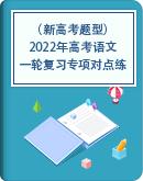 (新高考题型)2022年高考语文一轮复习专项对点练(教师版+学生版)