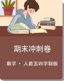 2020-2021学年人教五四学制版六年级下册数学期末冲刺试题(含答案解析)