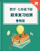 【期末复习】鲁教版数学七年级下册 期末复习检测(含答案)
