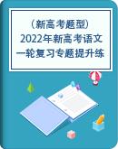(新高考题型) 2022年新高考语文一轮复习专题提升练(含答案)