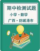 广西防城港市东兴市2020-2021学年第二学期小学数学期中教学质量检测
