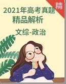 2021年高考文综-政治真题精品解析