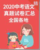2020年中考语文真题试卷汇总(全国各地)