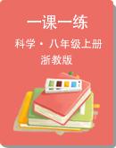 【浙教版】2021年初中科学八年级上册一课一练