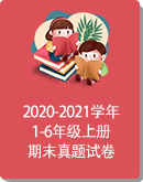 浙江省绍兴市诸暨市荣怀小学2020-2021学年第一学期1-6年级各科期末调研测试卷