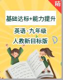 【同步课时练】人教新目标九年级全一册英语(基础达标+能力提升)(含答案)