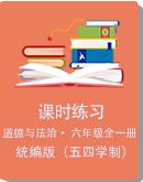 统编版(五四学制) 初中六年级全一册道德与法治课时练习+单元练习