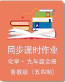 魯教版(五四制)九年級化學全一冊同步課時作業(含解析)