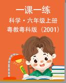 粤教粤科版(2001)葡京真人娱乐开户六年级上册一课一练(无答案)