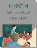 滬教版(上海)物理九年級上冊同步練習(含答案)