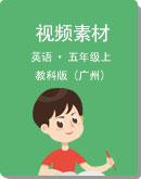 教科版(广州)英语五年级上册视频素材