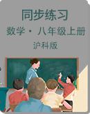 滬科版初中數學八年級上冊 同步練習