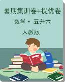 人教版五升六數學暑期銜接集訓卷+提優卷(含答案)