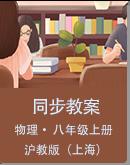 滬教版(上海)物理八年級上冊同步教案