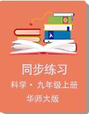 华师大版科学九年级上册同步练习(含答案)
