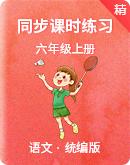 【同步练习】人教部编版六年级上册语文同步课时练习(基础+能力)(含答案)