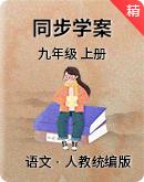 人教统编版语文九年级上册 同步学案精讲
