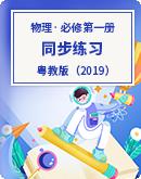 2021-2022学年粤教版(2019)高中物理必修第一册  同步练习(word含答案)