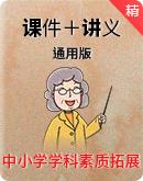 中小学学科素质拓展(课件+讲义+工具卡)