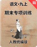 人教统编版语文九年级上册 期末专项训练