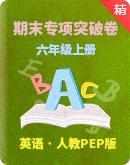 人教PEP版六年级上册英语 期末专项突破卷(含答案)