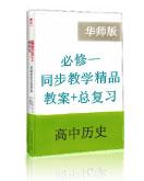 高中历史华师大版第一册同步教学精品(教案+总复习测试)