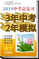 【备考2019】语文3年中考2年模拟复习学案(通用版)